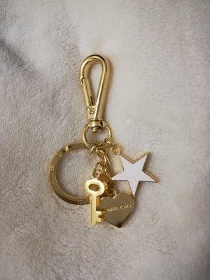 Michael Kors Llavero color oro