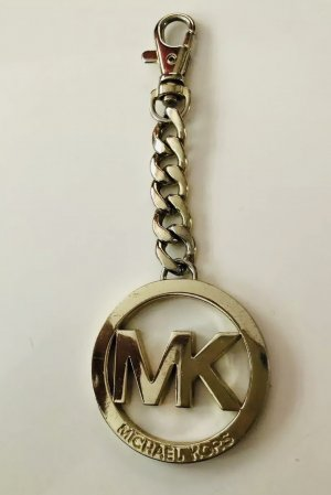 Michael Kors Key Chain sand brown metal