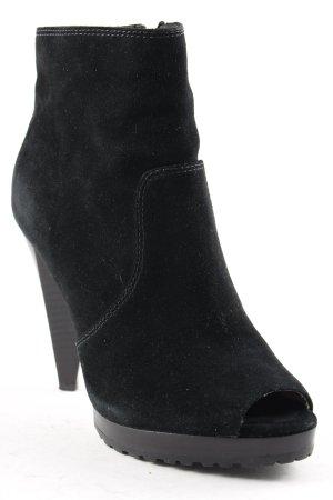 Michael Kors Ankle Boots schwarz klassischer Stil