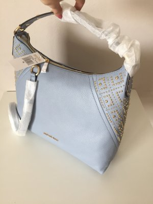 Michael Kors Aria Handtasche Tasche Pale Blue Neu hellblau