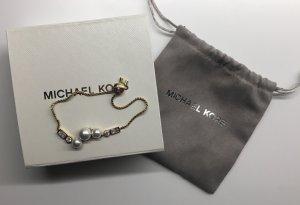 Michael Kors Ornamento braccia oro-bianco sporco