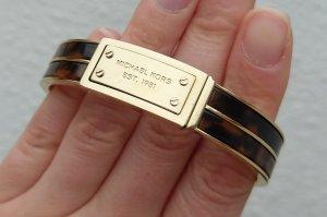 michael kors armband armreif gold braun neu