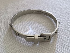 Michael Kors Armband Edelstahl silber Gürtel Optik mit Nieten wie Neu