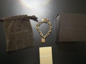 Michael Kors Armband goldfarben mit Schloss