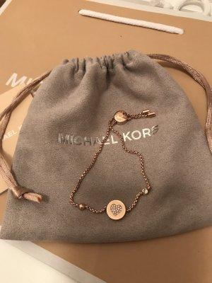 Michael Kors Braccialetto sottile color oro rosa Acciaio pregiato