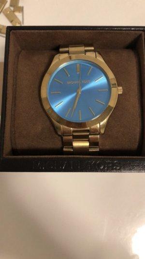 Michael kors Armband Uhr mit blauem ziffernblatt