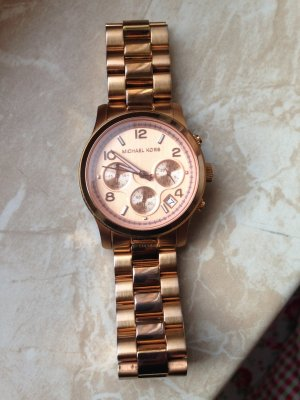 Michael Kors Armbanduhr rosegold-farben