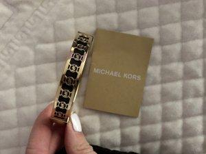 Michael Kors Jonc noir-doré