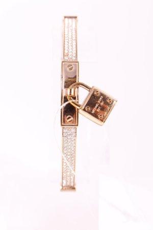 "Michael Kors Armreif ""Pavé PadLock Rose Gold-Tone Bracelet"" roségoldfarben"
