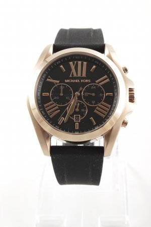 "Michael Kors Automatikuhr ""Gents Bradshaw Watch Black/Rosegold"""
