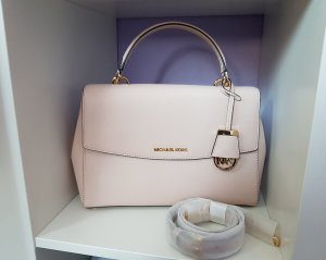 Michael Kors Ava Medium MD Rosa Beige Nude Soft Pink