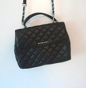 Michael Kors Ava Quilted Leather Schwarz