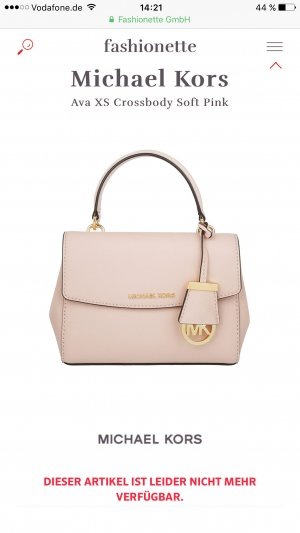 Michael Kors Ava XS Crossbody Soft Pink