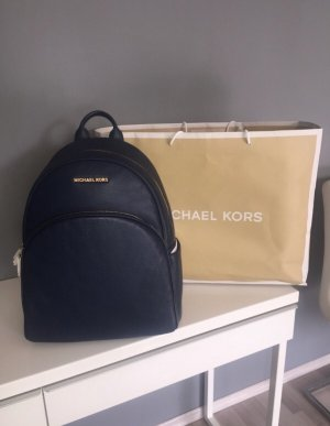 Michael Kors Mochila azul oscuro