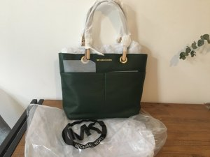 Michael Kors Carry Bag forest green leather