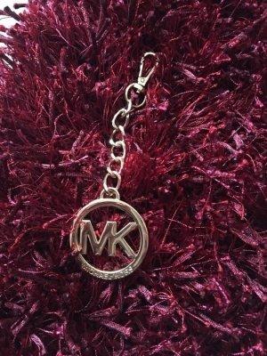 Michael Kors Bag Charm Taschen Accessoire Anhänger MK Gold