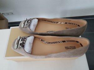 Michael Kors Ballerina argento-marrone-grigio Pelle