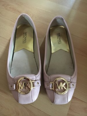 Michael Kors ballerinas in rose nude 38