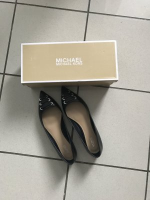 Michael Kors Ballerinas Marcy,Flats,neu,Gr 40/41,schwarz,Leder