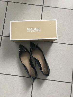 Michael Kors Ballerinas Marcy,Flats,neu,Gr 40,5 (40/41),schwarz,Leder