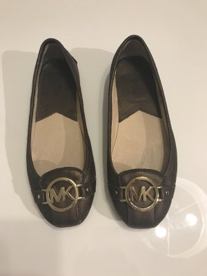 Michael Kors Ballerinas metallic
