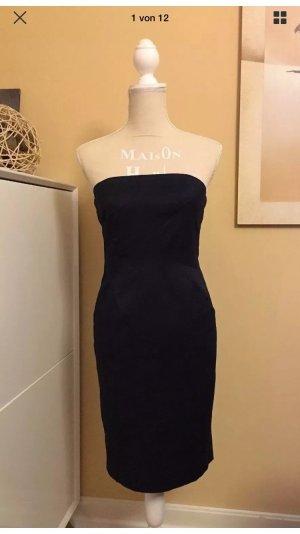 MICHAEL KORS Bandeau- Bleistift- Kleid in Blau Gr.2 / ca. XS / 32-34, nur 1x getragen!