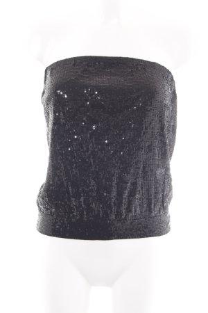 Michael Kors Haut bandeau noir style festif