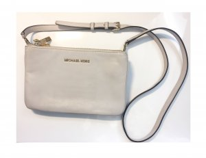 MICHAEL KORS Bedford Cross-Body Bag Clutch Leder hellbeige ***ORIGINAL***