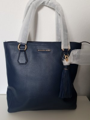 Michael Kors Sac Baril bleu
