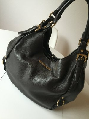 Michael Kors Carry Bag dark brown-gold-colored