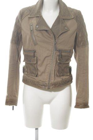 Michael Kors Biker Jacket brown-bronze-colored casual look