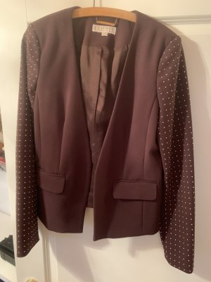 Michael Kors Blazer braun mit goldenen Highlights an den Armen