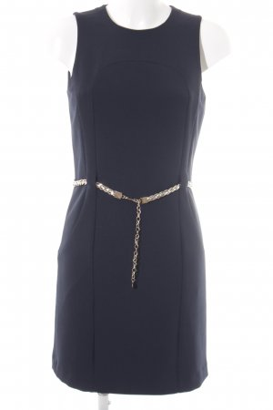 Michael Kors Bleistiftkleid dunkelblau-goldfarben Elegant