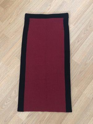 Michael Kors Pencil Skirt black-red