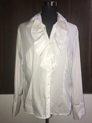 Michael Kors Ruche blouse wit