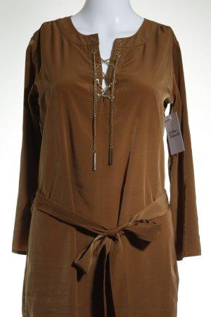 Michael Kors Abito blusa marrone chiaro stile semplice