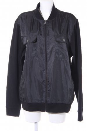 Michael Kors Bomber Jacket black athletic style