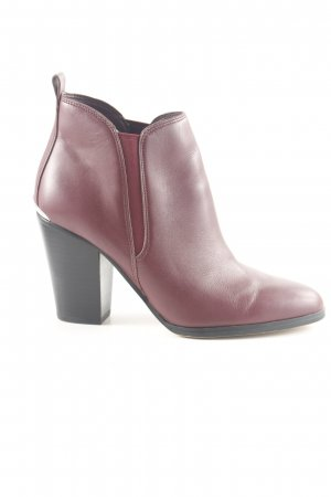 Michael Kors Booties rot Business-Look
