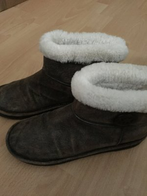 Michael Kors Boots mit Fell Größe 38/39
