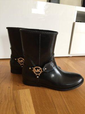 Michael Kors Boots, schwarz-Silber