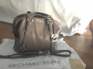 Michael Kors Bowling Bag camel leather