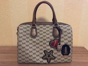 Michael Kors Bowling Bag Patches NEU
