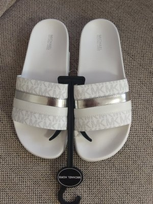 Michael Kors Sabots white-silver-colored