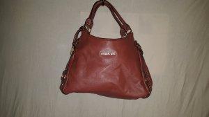 Michael Kors Shoulder Bag cognac-coloured-russet leather