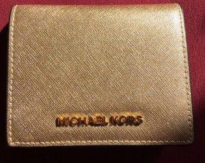 Michael Kors Brieftasche Gold Effekt Neu