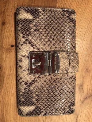 Michael Kors Brieftasche in Schlangenlederoptik