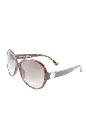 Michael Kors Occhiale marrone-marrone-nero Stampa leopardata stile casual