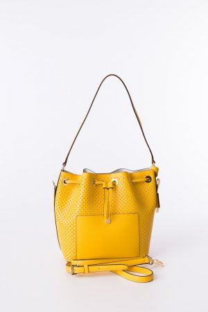 MICHAEL KORS - Bucket Bag Greenwich Gelb