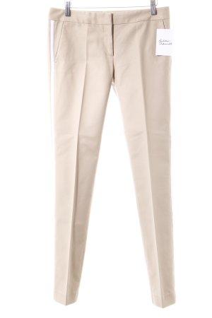 Michael Kors Bundfaltenhose creme-weiß Casual-Look