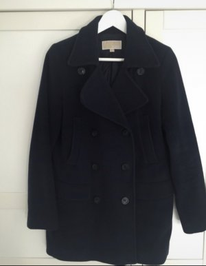 Michael Kors Pea Jacket dark blue